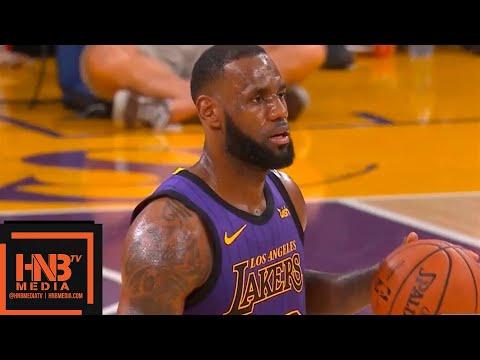 Los Angeles Lakers vs Utah Jazz 1st Half Highlights | 11.23.2018, NBA Season