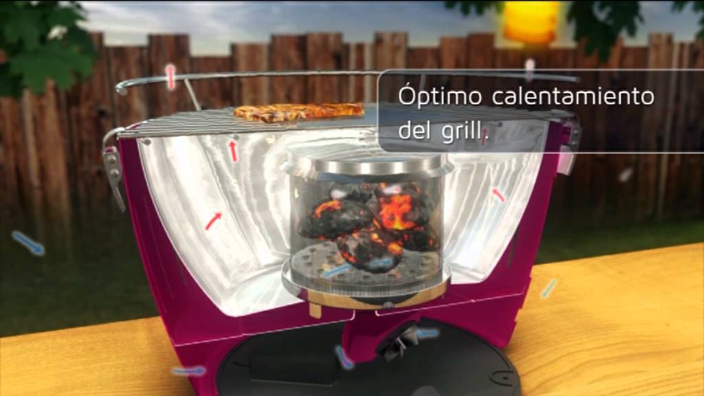 Lotusgrill bbq barbacoa port til de carb n youtube - Barbacoas de carbon portatiles ...