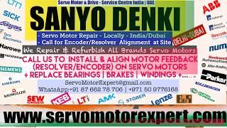 Sanyo Denki Servo Motor Drive Encoder Repair Align Dubai Abudhabi Sharjah Ajman Oman Bahrain Kuwait