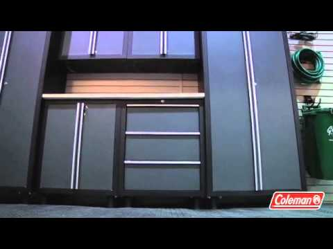 Coleman 24 Gauge Garage Cabinets