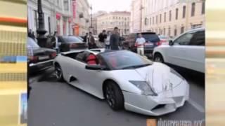 самая дорогая и смешная  авария  BMW Лексус Lambargini подборка мистер килла