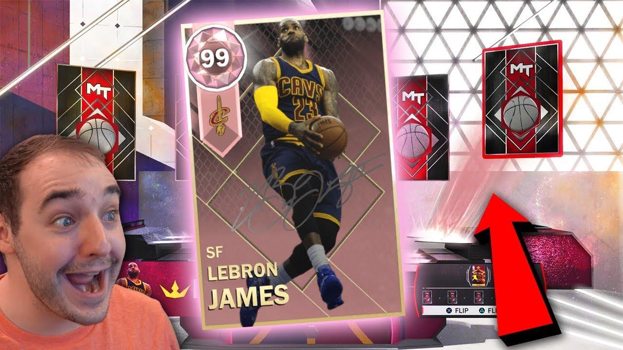 b38cf6daa1800 NBA 2K18 My Team WE PULLED PINK DIAMOND LEBRON JAMES ! ! OMG NO FREAKING  WAY! INSANE PACK OPENING!!!