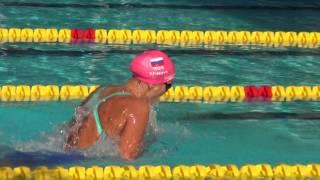 Вот как плывет Юлия Ефимова! Победа на стометровке брассом в Барселоне