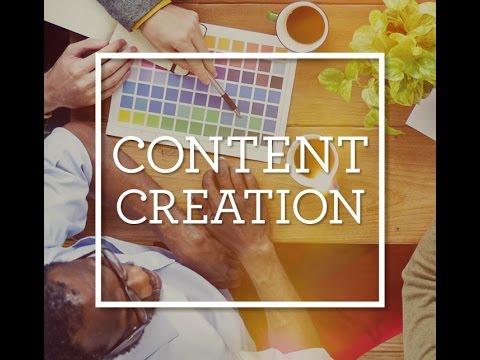 Content Exploration Session 4: Content Creation