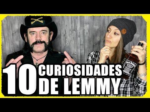 10 CURIOSITIES ABOUT LEMMY KILMISTER (MOTORHEAD)