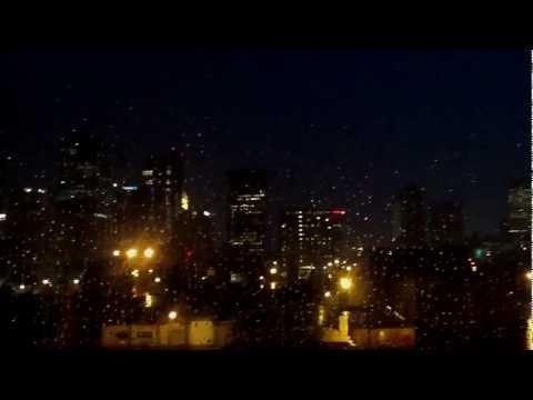 Storm against the Columbus, OH skyline