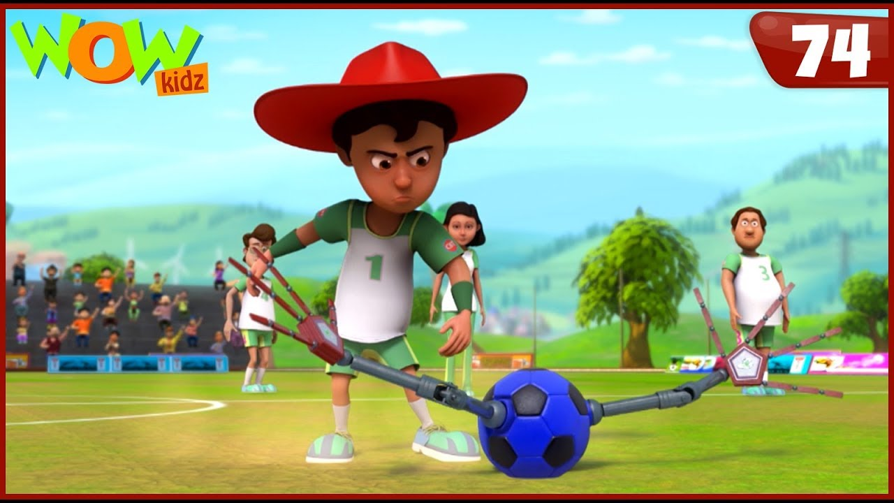 New Cartoon Show | Chacha Bhatija | Wow Kidz | Hindi Cartoons For Kids | Football Manav
