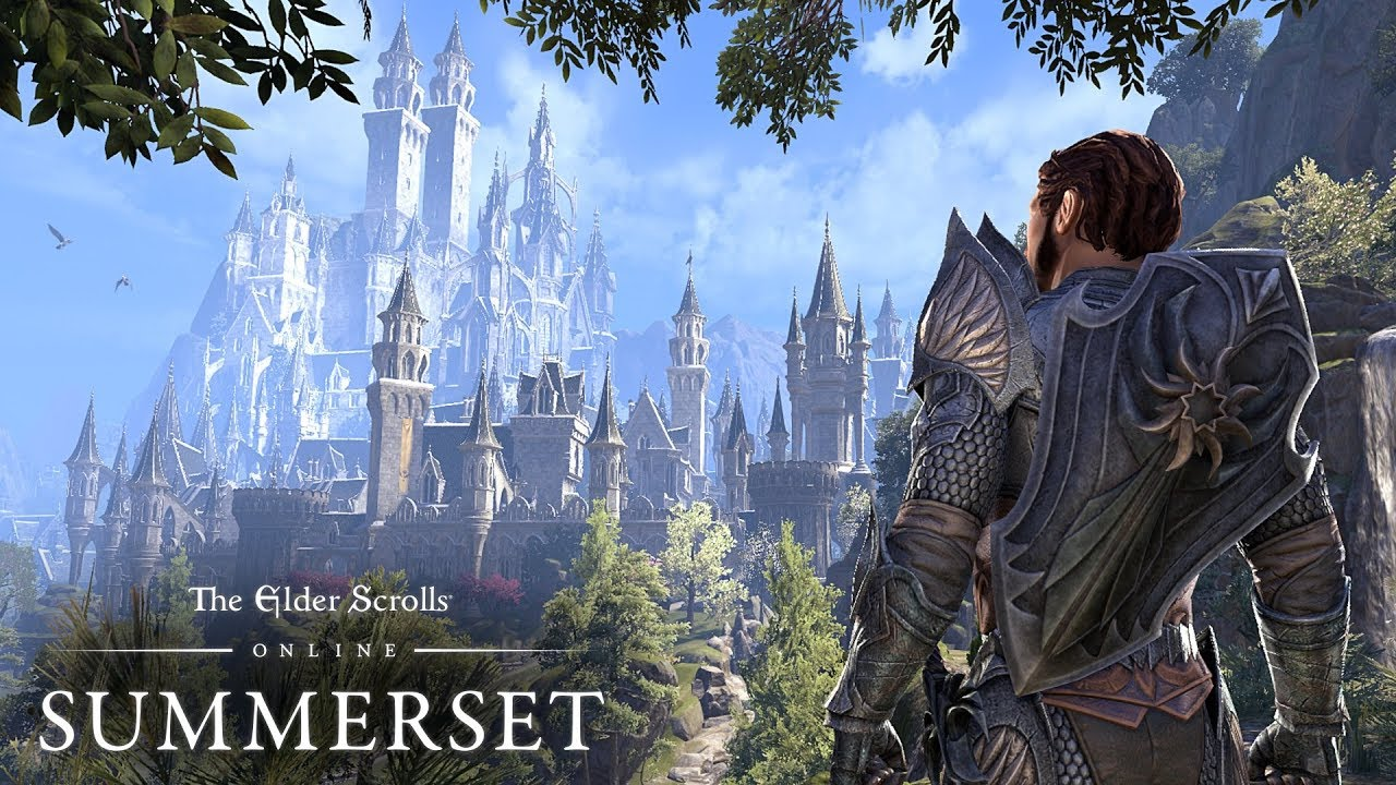 ESO's New Trailer Takes Players on a Journey to Summerset - MMOGames com
