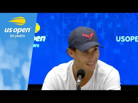 US Open Press Conference: Rafael Nadal