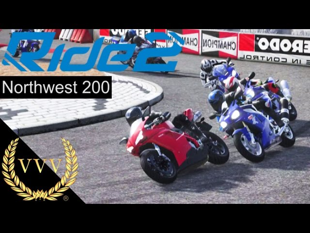 Ride 2 Northwest 200 Race on PS4
