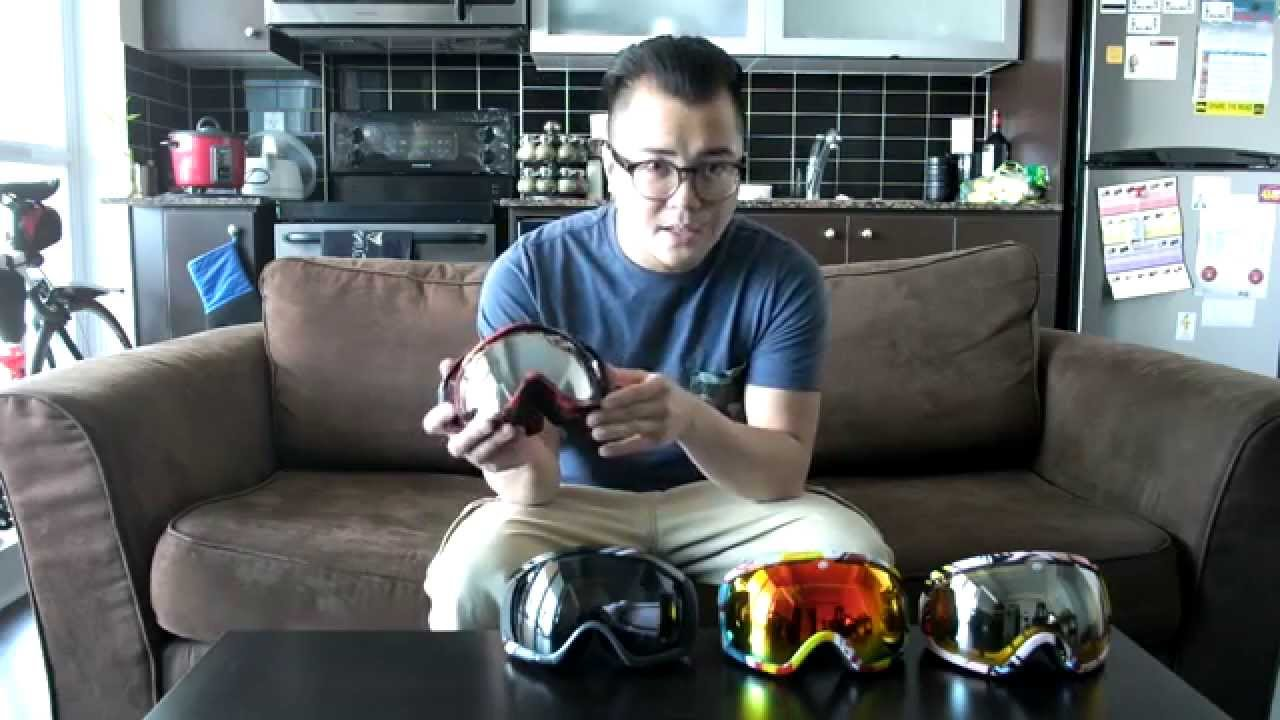 oakley canopy ski goggles  Comparison: Electric EG2 \u0026 Oakley Canopy \u0026 Crowbar Goggles - YouTube