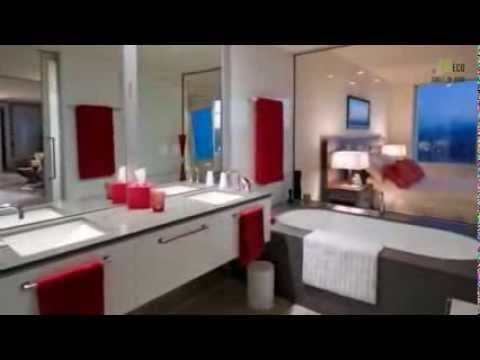 d coration de salles de bains modernes youtube. Black Bedroom Furniture Sets. Home Design Ideas
