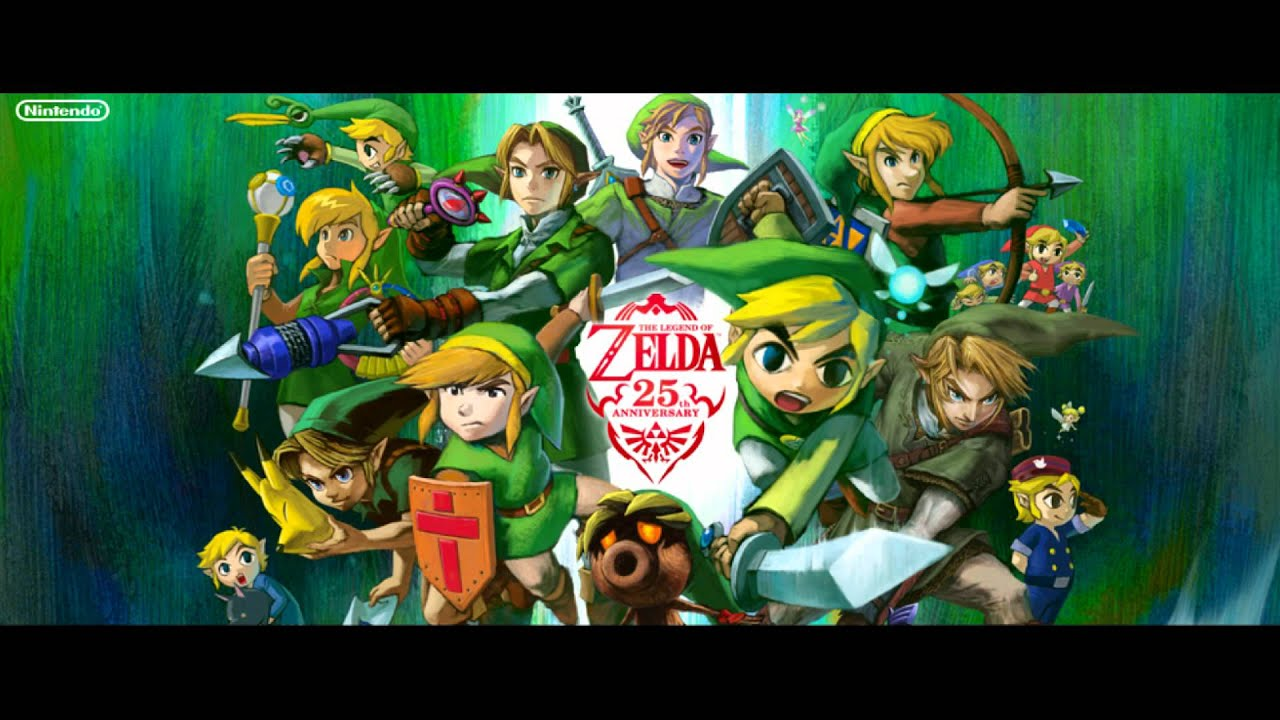 OST The Legend Of Zelda 25th Anniversary 2011