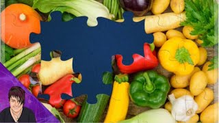 Fruit and Vegetables - Maġic Jigsaw Puzzles   Rosie Rayne