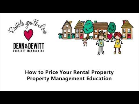How To Price Your St Petersburg Rental Property Florida Property Management Education