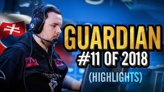 GuardiaN - The Sickest AWP Playstyle? - HLTV.org's #11 Of 2018 (CS:GO)