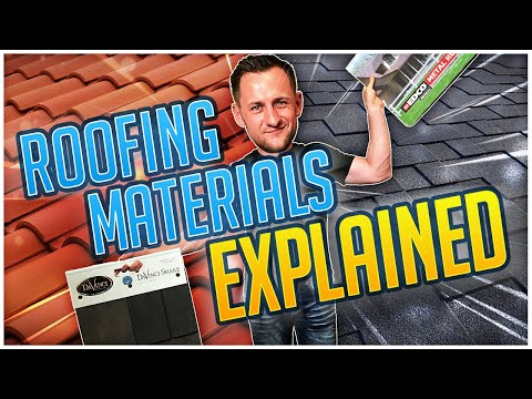 Roofing Materials review: asphalt shingles , rubber, metal, clay and cedar / @Roofing Insights