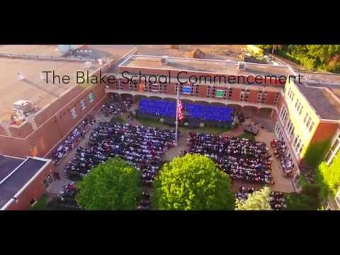 The Blake School: Graduation Ceremony 2016 Aerial Video