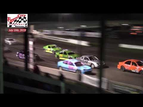 Fiesta City Speedway WISSOTA Hornet A-Main (7/19/19)