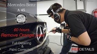 "Mercedes A45 AMG  "" Remove Orange Peel "" Full Detailing & Paint Correction"