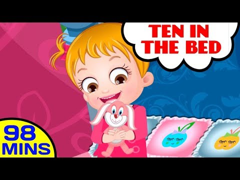 Ten in the Bed | More Number Songs and Rhymes For Kids by Baby Hazel Nursery Rhymes