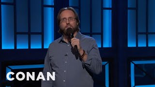 Nick Hart Just Learned That Green Onions & Scallions Are The Same Thing  - CONAN on TBS