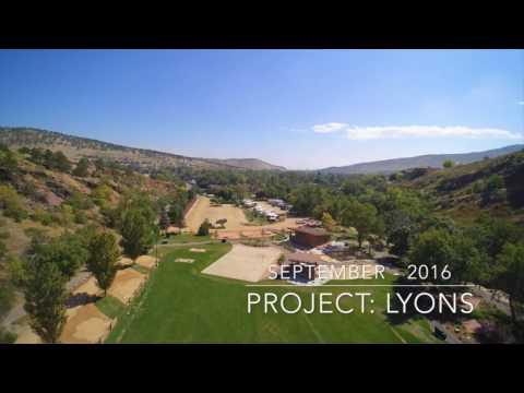 LaVern M. Johnson Park in Lyons, Colorado
