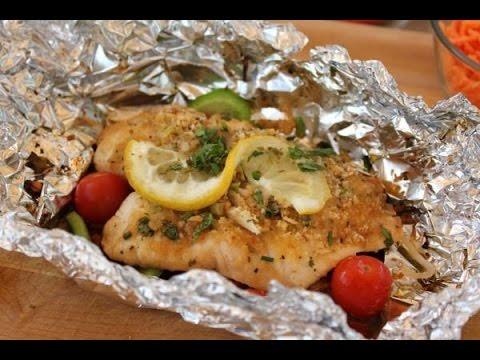 красная рыба в фольге с картошкой в духовке рецепт с фото