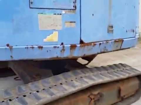 รถกระเช้า แมนลิฟท์ ตีนตะขาบ แทรกยาง AICHI เครื่อง ISUZU สูง15 เมตร ราคา 260,000