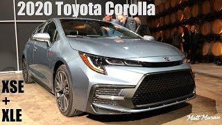 2020 Toyota Corolla Sedan Walkaround and Details!