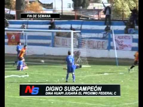 DEPORTES: DINA HUAPI DIGNO SUBCAMPEON