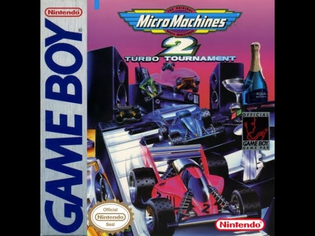 Game Boy: Micro Machines 2 - Turbo Tournament (HD / 60fps)