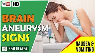 Brain Aneurysm Symptoms: 9 Warning Signs of a Brain Aneurysm