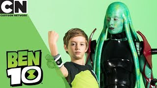 Ben 10 | Behind the Scenes with Stacey Solomon | Cartoon Network