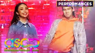 "Maymay and Enchong bring out their swag as they dance to ""Ivana"" 