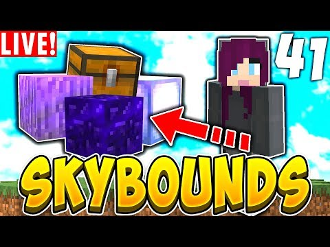HUGE OPENABLES EPISODE! *Facecam* | SKYBOUNDS S2 #41 (Minecraft Skyblock)