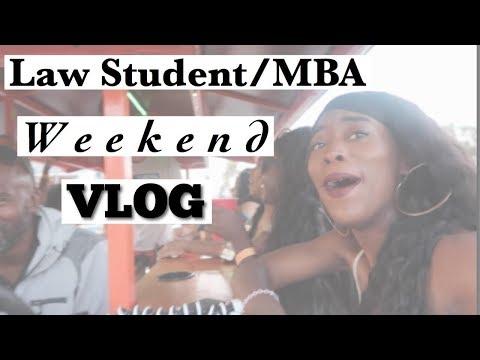Law School/MBA Vlog | Play Hard Work Harder