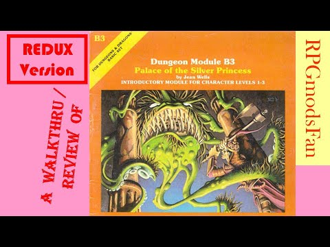 B3 Palace of the Silver Princess (Part 1 of 2) (Orange Cover REDUX version) [ RPGmodsFan ]