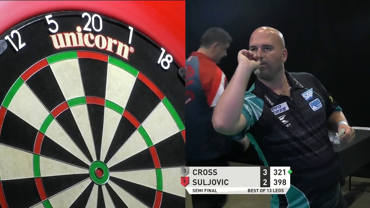 Rob Cross 9 Darter with new Darts - 2020 PDC Summer Series