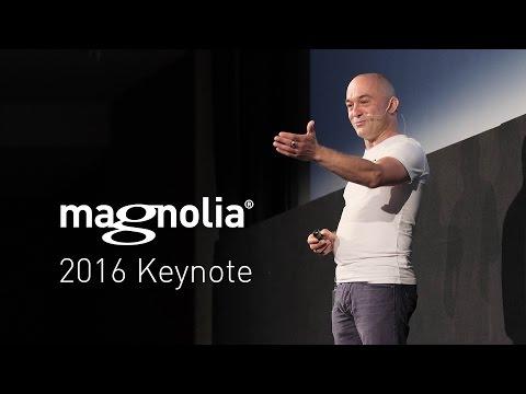 Magnolia Conference Keynote 2016 | Pascal Mangold, CEO Magnolia