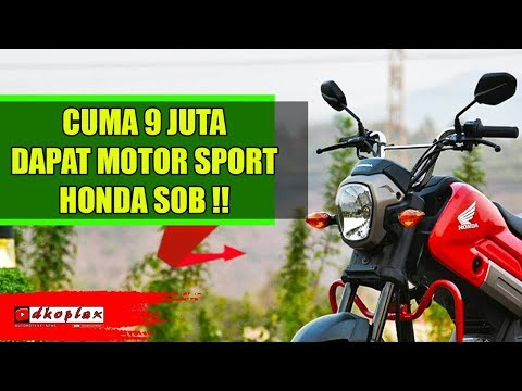 Motor Sport Unik dari Honda INI DIJUAL Seharga Rp 9 Jutaan, MOTOR APA SIH?