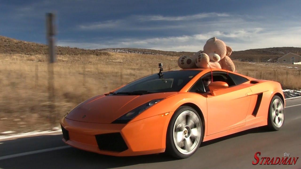 Lamborghini Christmas Shopping Youtube