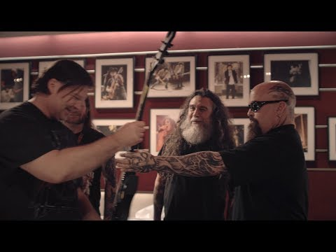 SLAYER - SiriusXM Liquid Metal Flyaway Sweepstakes Winners (REPENTLESS)