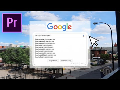 10 Most Searched Questions in Adobe Premiere Pro