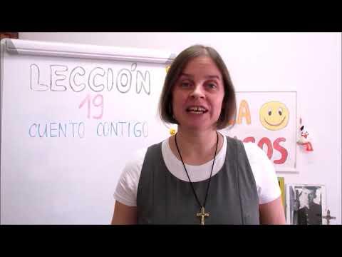 Hola amigos - 19. lekce španělštiny s misionářkou
