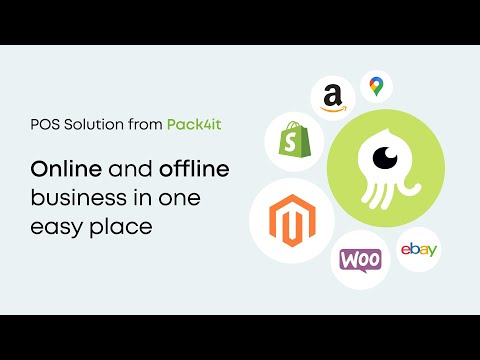 POS Solution from Pack4It — connect online and offline business to one easy place