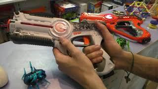 Як влаштувати лазерний пістолетний бій з 4 команд - W7001