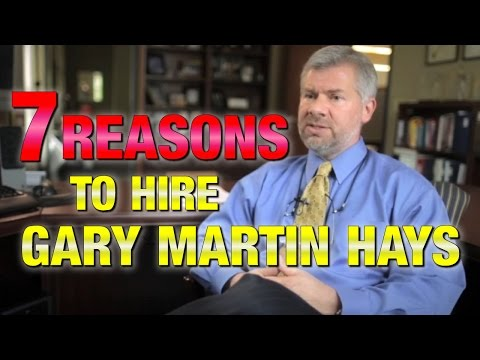 Atlanta Personal Injury Lawyer: Top 7 reasons you should hire lawyer Gary Martin Hays