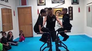 Kung Fu Kids - Knee Raise Hold Challenge