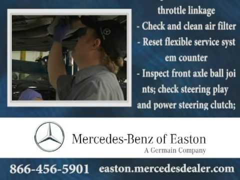 B Service Coupon Feature Columbus OH EastonTownCenter OH YouTube - Mercedes benz service coupons